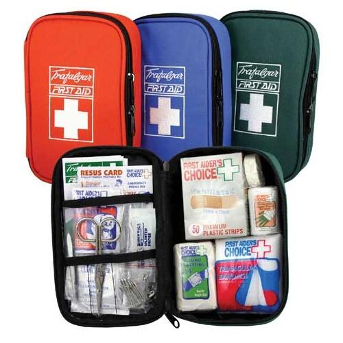 Travel First Aid Kit Red