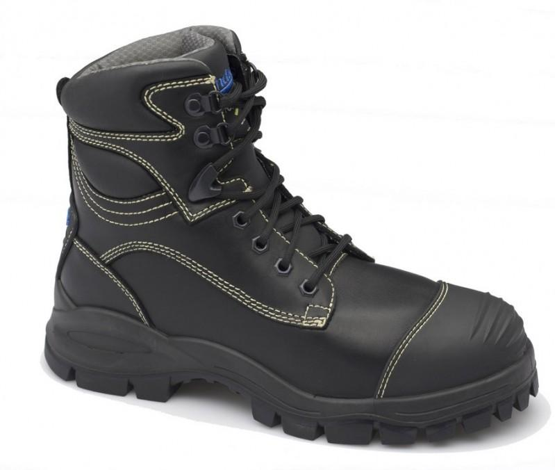 BLUNDSTONE - Lace Up Electrical Safety Boot with Metatarsal Guard