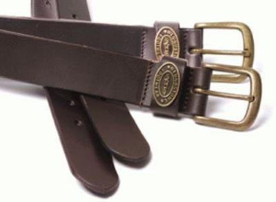BLUNDSTONE BELTBRN - Brown Leather Belt