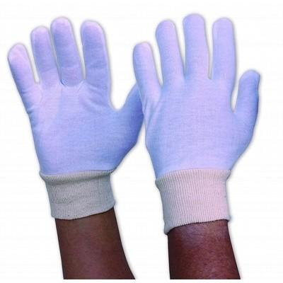 Interlock Poly/Cotton Liner With Knitted Wrist Ladies