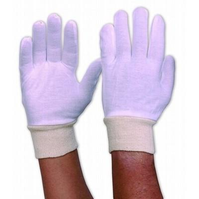 Interlock Poly/Cotton Liner With Knitted Wrist Mens