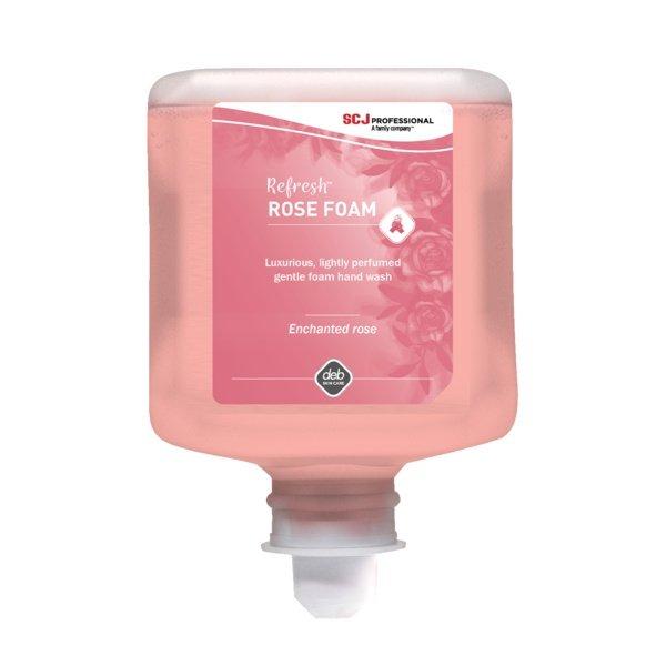 DEB Rose Foam Wash 1LT