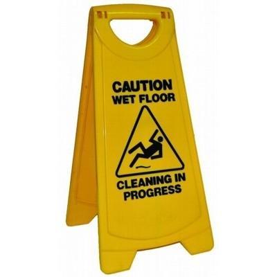 Caution Wet Floor A Frame Sign