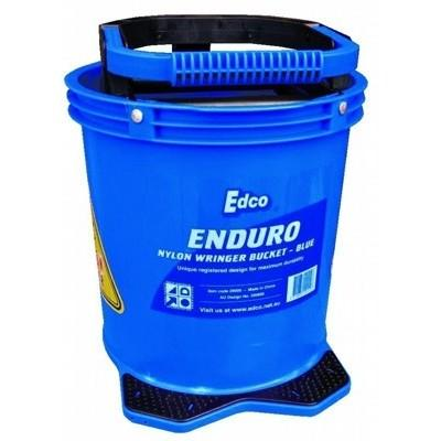 Enduro Nylon Wringer Mop Bucket Blue