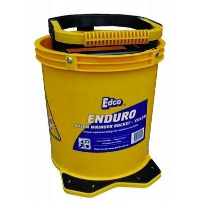 Enduro Nylon Wringer Mop Bucket Yellow