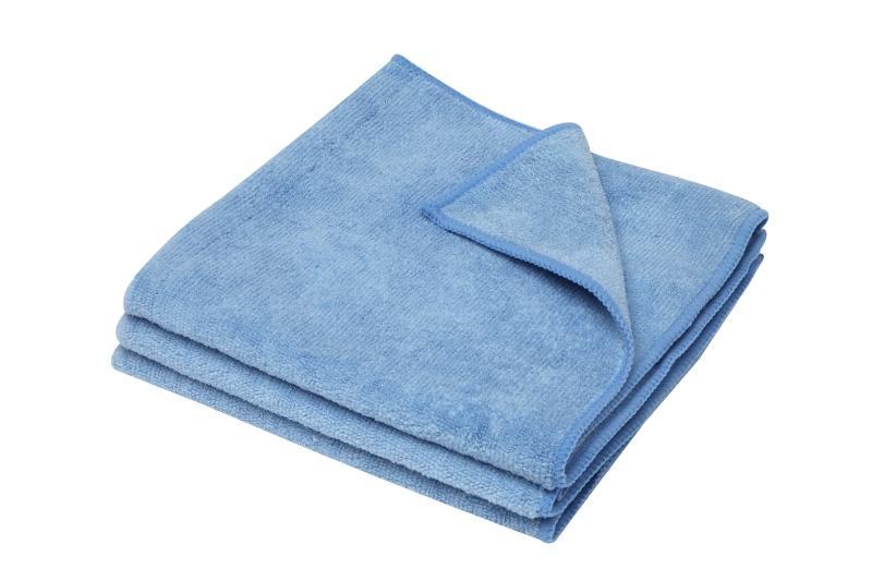 All Purpose Microfibre Cloth 3PK Blue