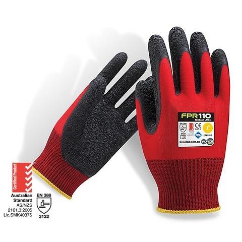 Force360 Redback Latex Glove