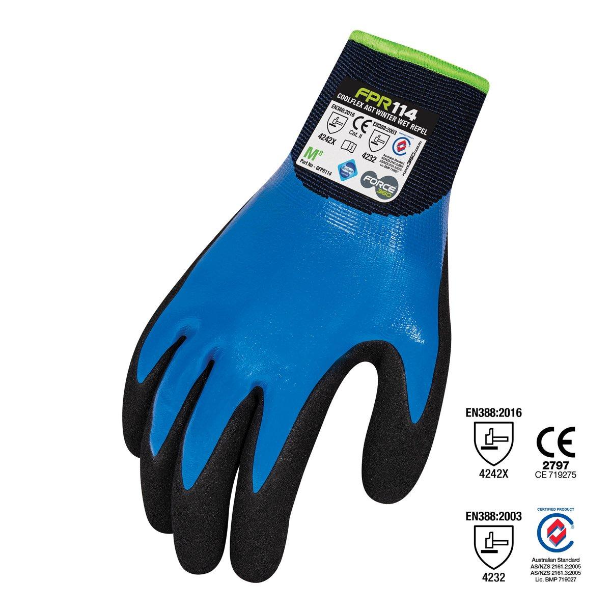 Force360 CoolFlex AGT WET Repel Winter Glove