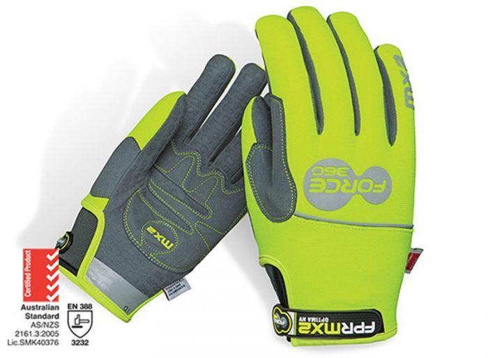 Force360 MX2 Optima Hi-Vis Mechanics Glove