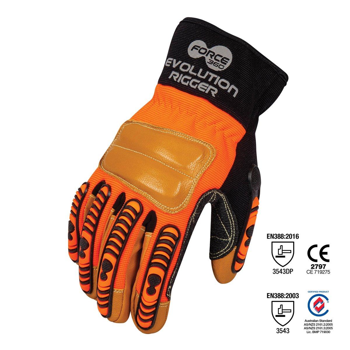 Force360 Evolution Cut 5 Riggers Glove