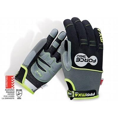 Force360 MX4 Vibe Control Mechanics Glove - Large