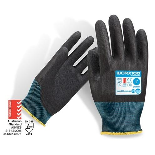 FORCE360 GWORX100 - Glove Nitrile Foam