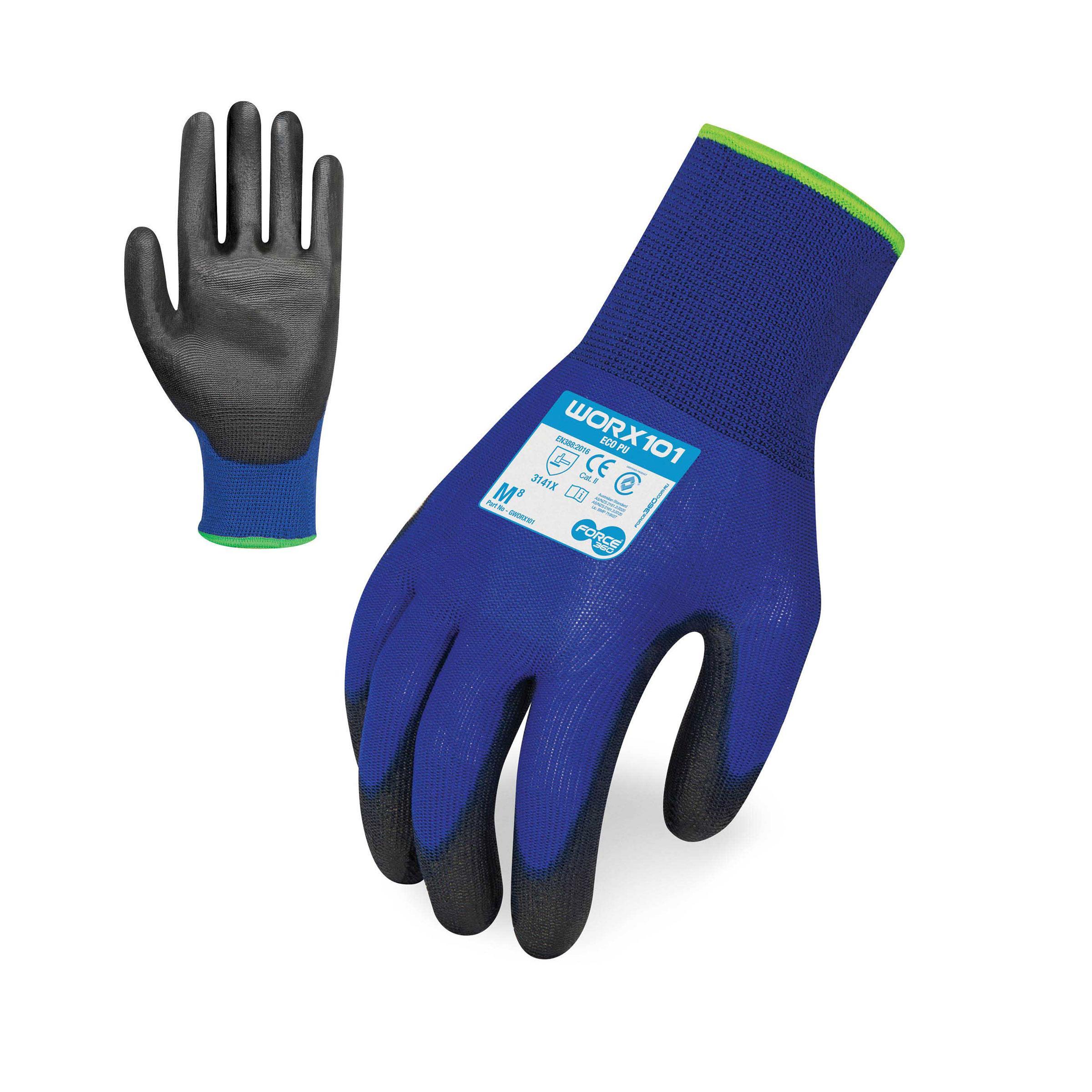 FORCE360 GWORX101 - Glove Eco PU Grip Glove