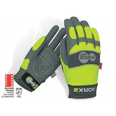 Force360 Worx2 Original HiVis Mechanics Glove