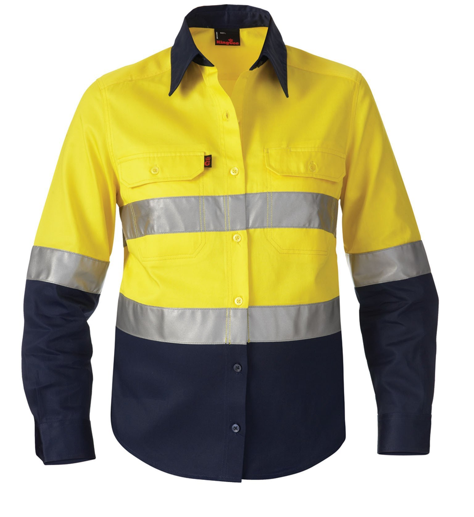 Long Sleeve Standard Weight Drill Shirt