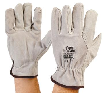 PRO CHOICE 803C - Riggamate Cowsplit Leather Gloves
