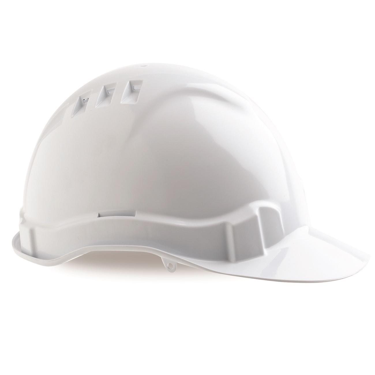 Vented Hard Hat White