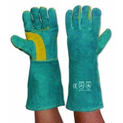 PARAMOUNT SAFETY PSLGW16E - Kevlar Welding Gloves Left Hand Pair