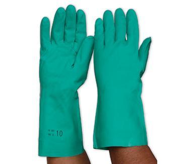 Nitrile Chemical Glove Green
