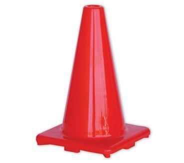 Orange Hi-Vis Traffic Cone 450mm