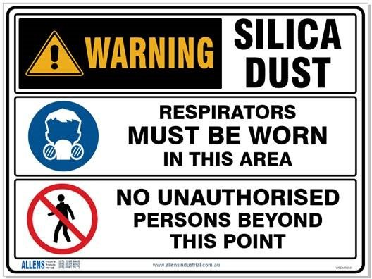 Multi Condition Silica Sign 600 x 450 Poly