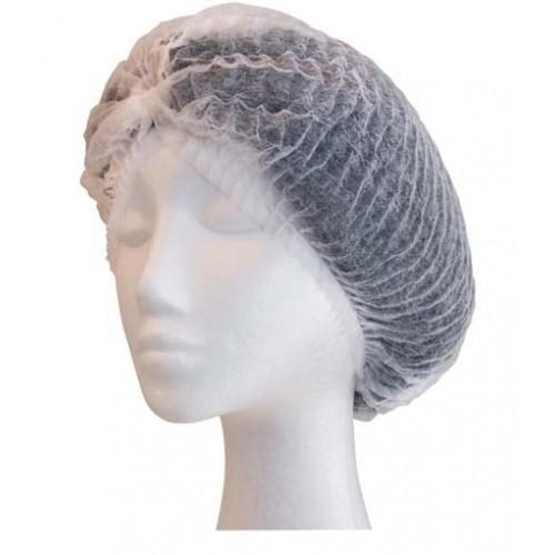 Crimped Berets 21 White
