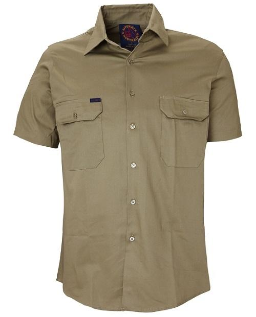 Short Sleeve Standard Weight Drill Shirt