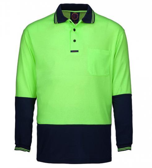 RITEMATE RM2346 - Long Sleeve Polo Shirt