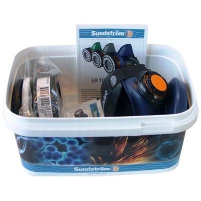 Sundstrom Half Mask Asbestos Respirator Kit M-L