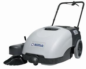 Nilfisk SW750 Battery Powered Floor Sweeper
