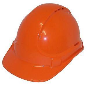 Unilite Safety Helmet  Vented Orange