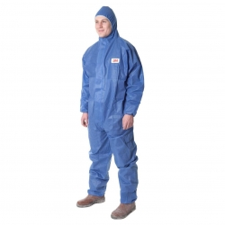 3M Type 5/6 Coverall Blue