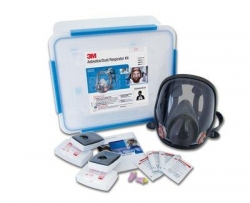 3M Full Face Asbestos Dust Kit