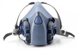 3M Premium Half Face Respirator Medium