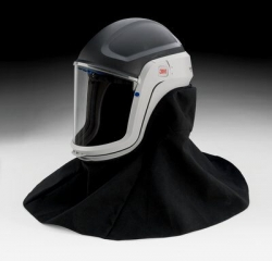 3M Versaflo Headtops M-Series Helmets with Shrouds