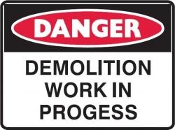 Demolition Work In Progress 600x450