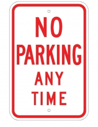 No Parking Any Time 450x300