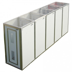 Decontamination Unit 5 Stage Modular