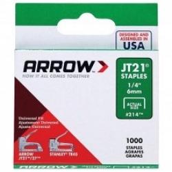 ARROW AR21424 - JT21 6mm Staples