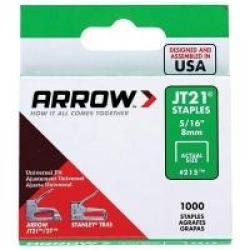 Arrow JT21 8mm Staples 1000 Pack