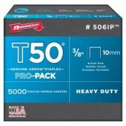 Arrow T50 Staples 10mm 5000pack