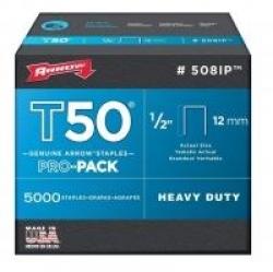 Arrow T50 12mm Staples 5000pk