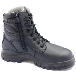 Blundstone 297 Metal Free Black Zip Sided Boot