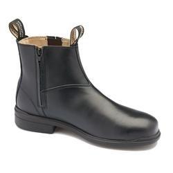 Blundstone 783 Black Zip Up Corporate Shoe