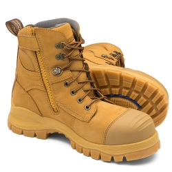 Zip Side Safety Boot