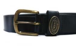 Black Leather Belt Blundstone
