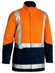 BISLEY BJ6970T - 3in1 Jacket Cotton Drill with Tape