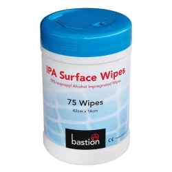 Isopropyl Alcohol Wipes 70% 75wipes