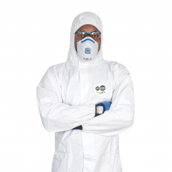 FORCE360 CFPR178 - Microporous Type 5/6 Coveralls - Click for more info