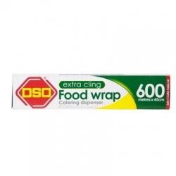 OSO Extra Cling PVC Food Wrap  600 metre x 45 cm